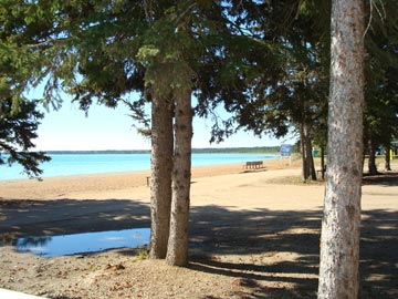 Lisa's writing view: Brightsand Lake